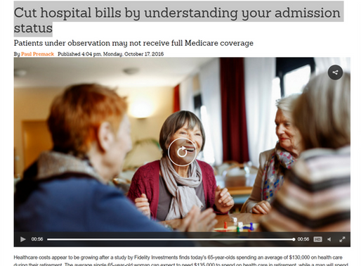 Cut hospital bills by understanding your admission status