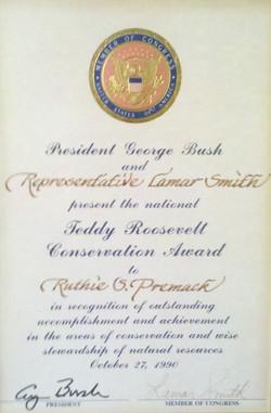 Ruthie - Theodore Roosevelt Conservation