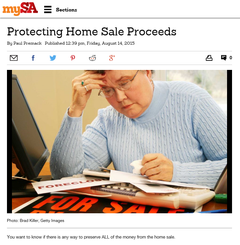 Protecting Home Sale Proceeds