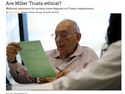 Are Miller Trusts ethical?