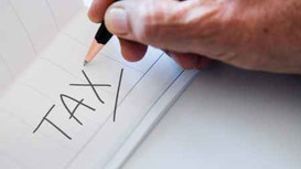 Delinquent Property Taxes under Mortgage or Probate