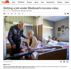 Getting a Job under Medicaid's income rules