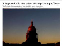 Legislature to consider Accountability issues