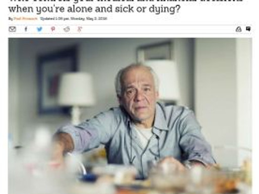 Who controls your medical and financial decisions when you're alone and sick or dying?