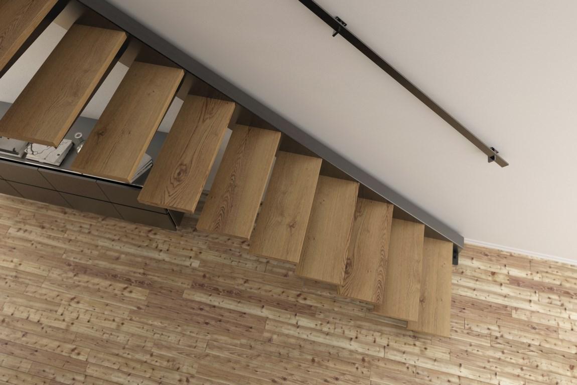 Escalier Marches Suspendues Mur kozac   configurer votre escalier en ligne