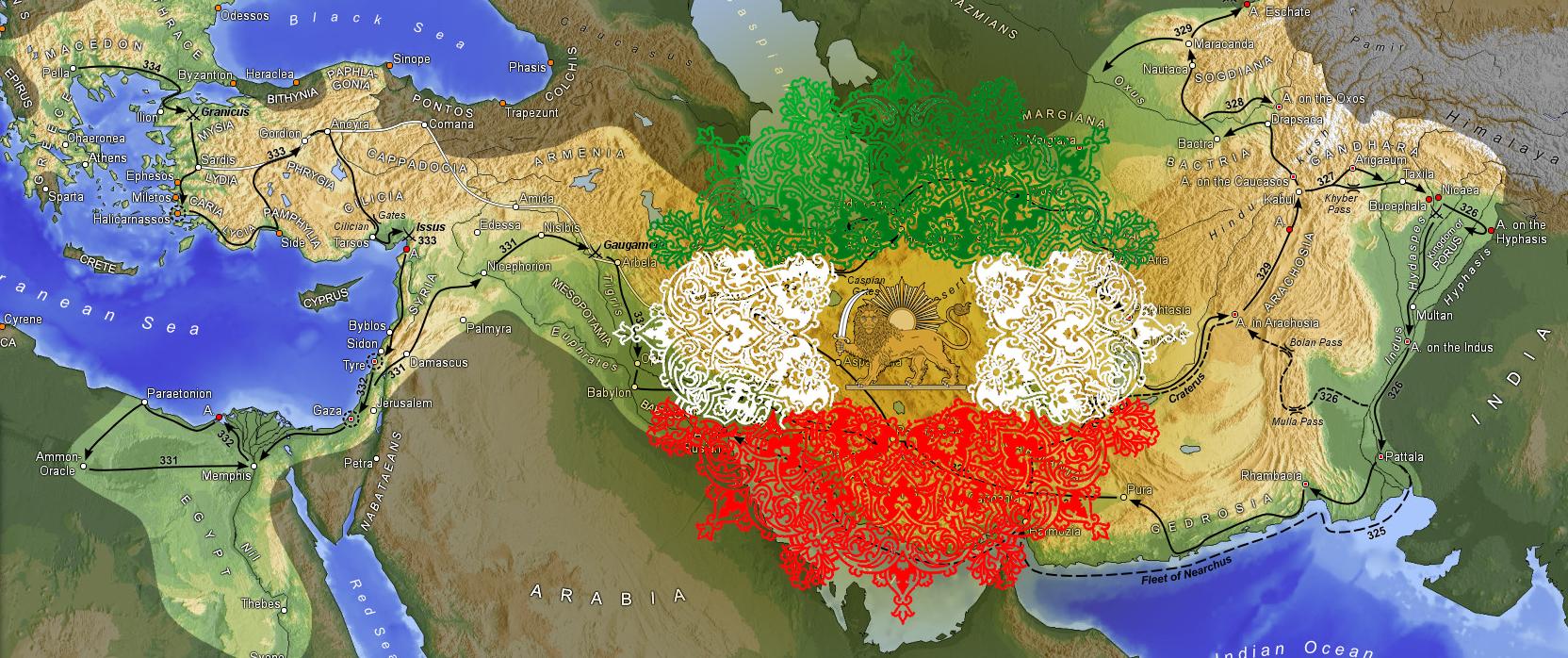 naghshe iran