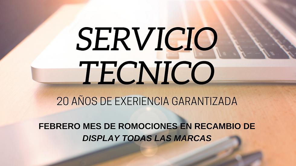 SERVICIO TECNICO ESPECIALIZADO