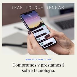 PRESTAMOS SOBRE TECNOLOGIA