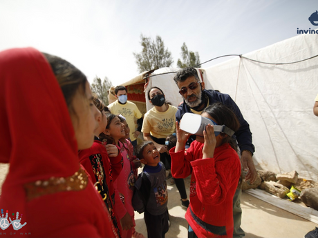 COWF Works with IK to Deliver Better Access to Immersive Technologies for Jordan Clinics and Schools