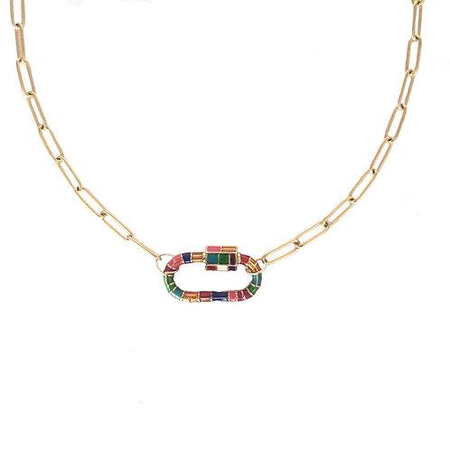 Mosaic Lock-Gold
