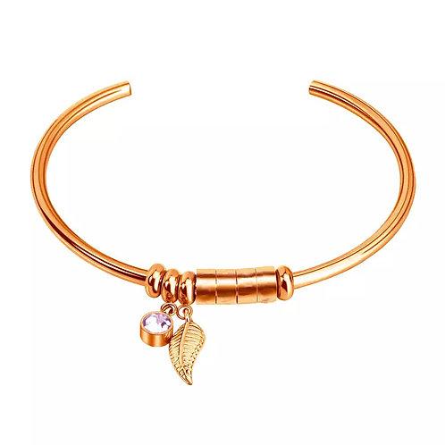 Named Charm Bileklik-Rose Gold