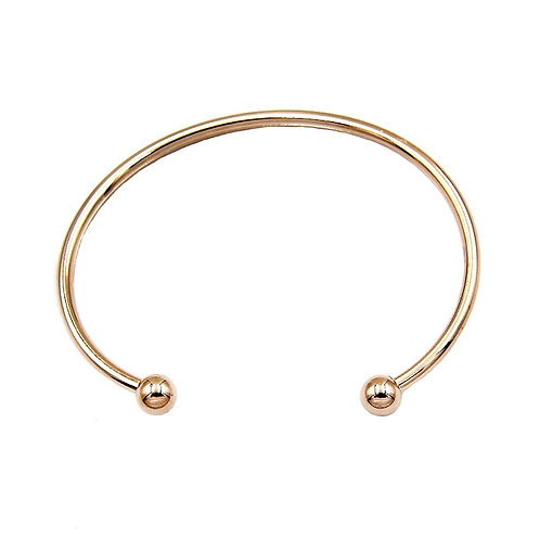 İki Ucu Top Bangle