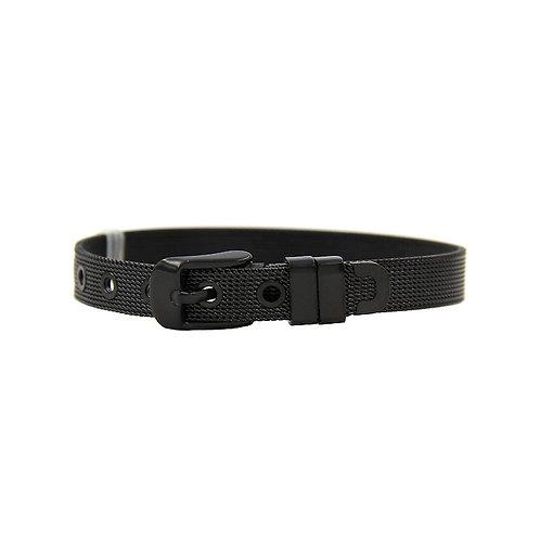 8mm Siyah Çelik Bileklik