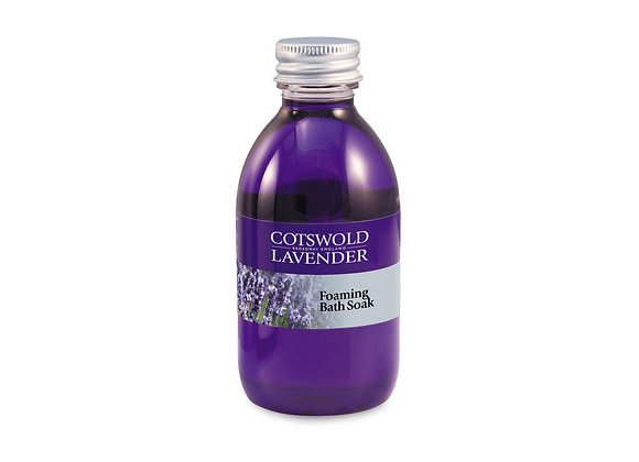Lavender Foaming Bath Soak