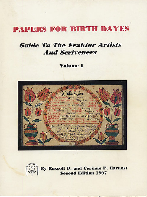 Papers for Birth Dates - Russell D. Earnest and Corinne P. Earnest