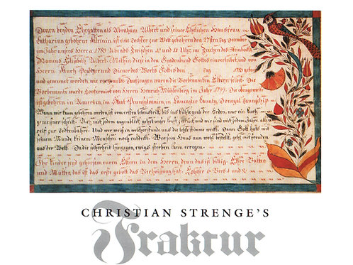 Christian Strenge's Fraktur - David Johnson