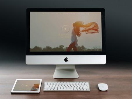 Web Design Portfolio - Radiance Within