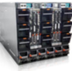 PowerEdge M1000e back view