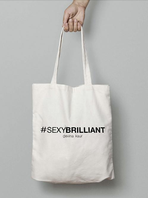 SEXY BRILLIANT TOTE BAG