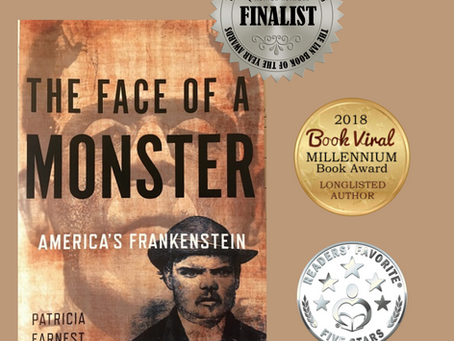 Interview with Patricia Earnest Author of The Face of a Monster: America's Frankenstein