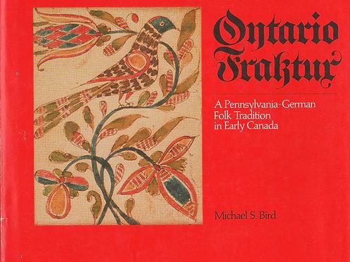 Ontario Fraktur - Michael Bird