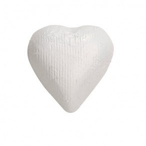 White Foiled Hearts Chocolate