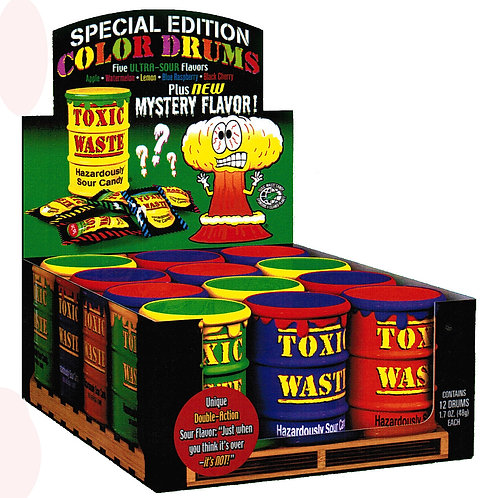 Toxic Waste Drum Special Edition