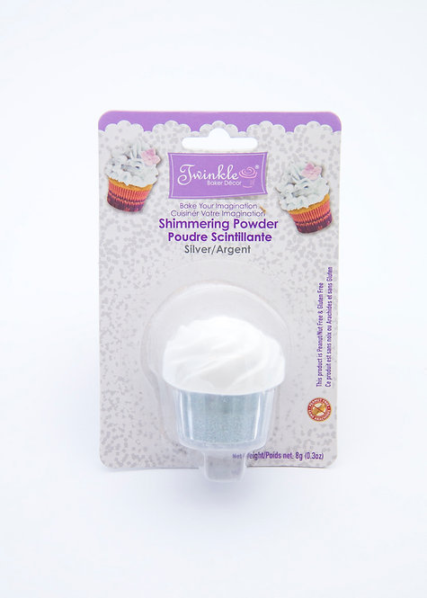 Shimmer Powder- Silver