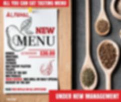 All You Can Eat Menu   AlFawal Resturant   Mediterranean Restuarant   Mississauga