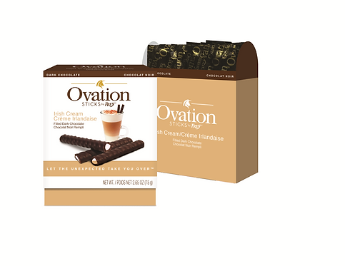 Ovation Sticks Irish Cream