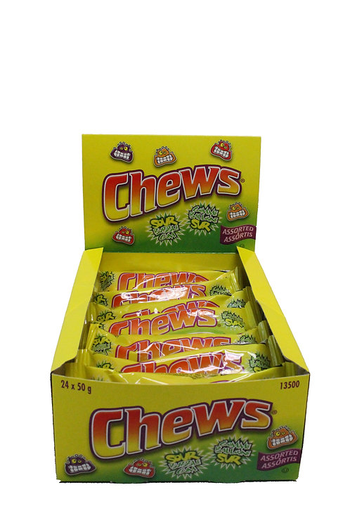 Chews Pouch Display Box