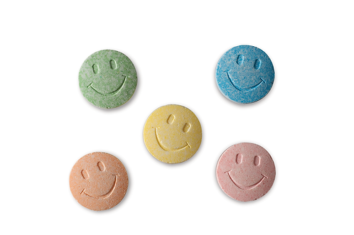 Smiles Uncoated Candy Bulk