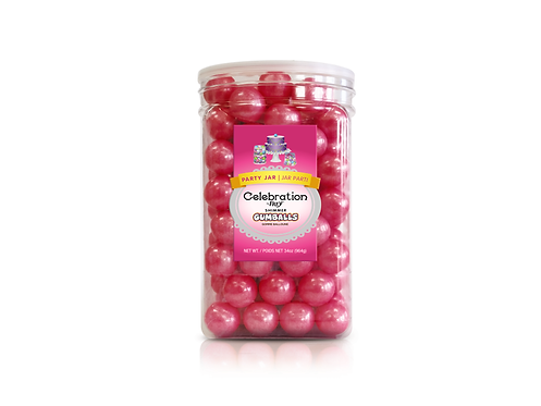 CEL by Frey Gumballs  Party Jar Shimmer Bright Pink
