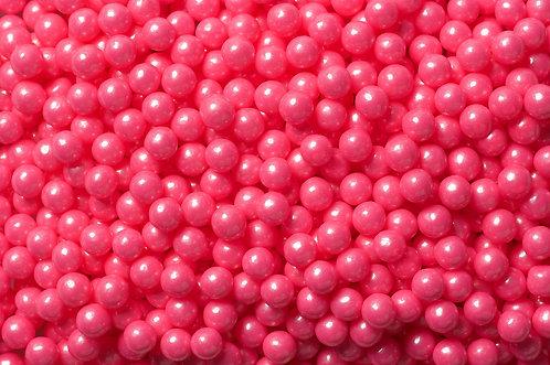Shimmer Pearls Bulk - Bright Pink