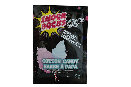 Shock Rocks Popping Candy Cotton Candy