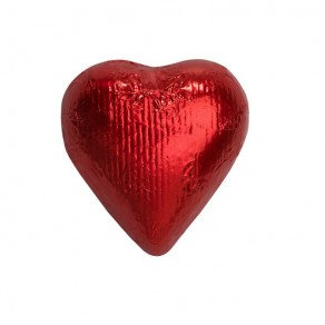 Red Foiled Hearts Chocolate