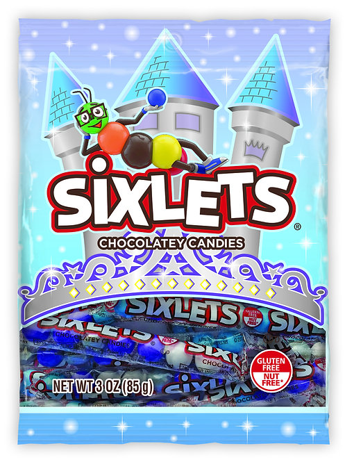 Sixlets Princess Peg Bag (12ct)