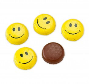 Solid Smiley Faces Chocolate