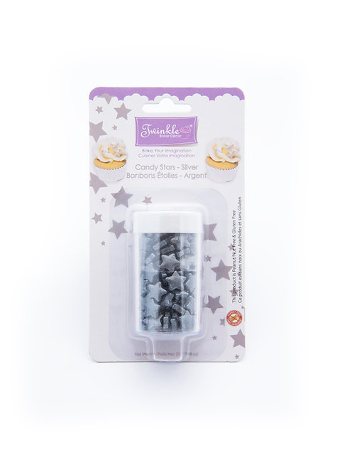 Candy Stars - Silver