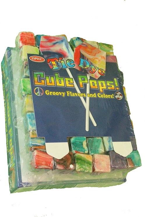 Tie Dye Pops