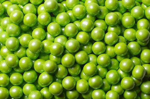 Shimmer Sixlets Bulk - Lime Green