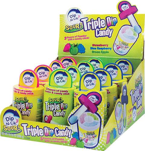 Sour Triple Dip Candy