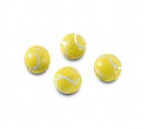 Solid Tennis Balls Chocolate