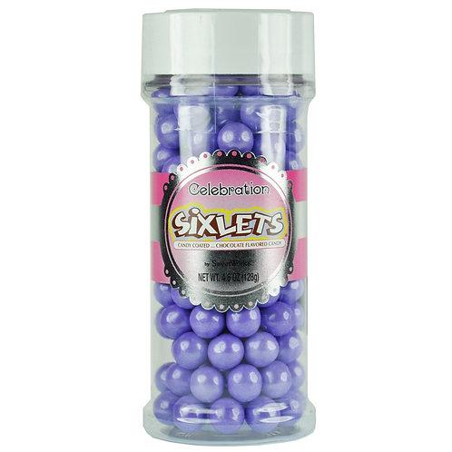 Shimmer Sixlets Jars - Lavender