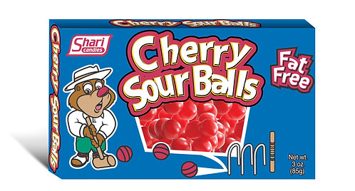Taste of Nature Cherry Sour Balls