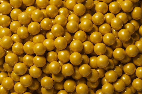 Shimmer Sixlets Bulk - Gold