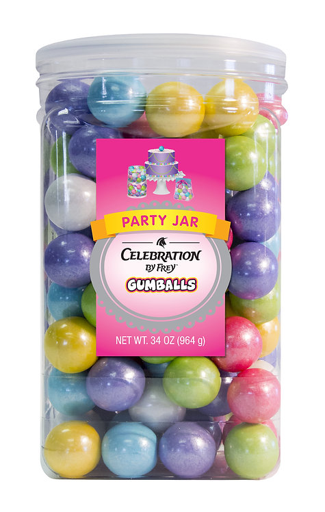 CEL by Frey Gumballs  Party Jar Shimmer Spring Mix