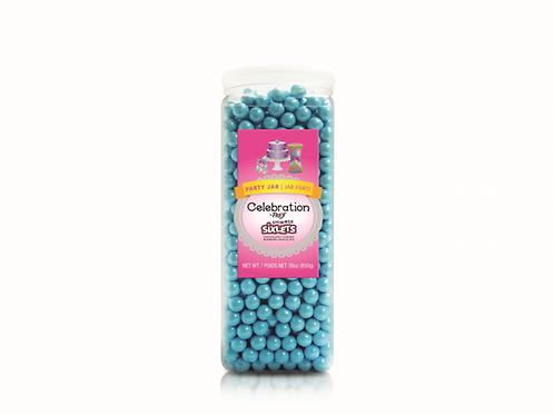 CEL by Frey Sixlets  Party Jar Shimmer Powder Blue Mix