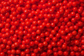 Pearls Bulk- Red