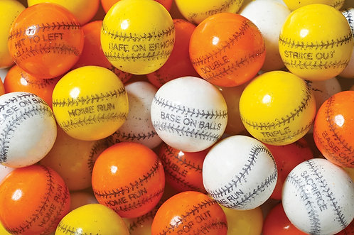 Baseball Bubble Gum Bulk (850ct)